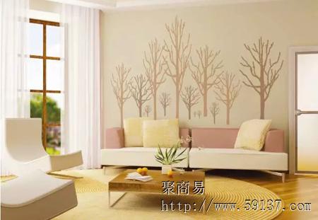 >动态详情     在室内的墙壁和天花板大面积涂装硅藻泥,室内的湿度