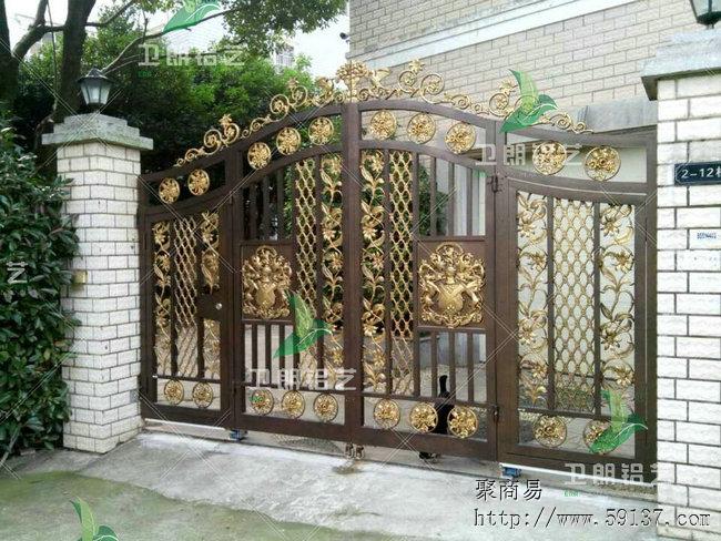 卫朗-非标定做别墅大门庭院围栏阳台护栏扶手窗花