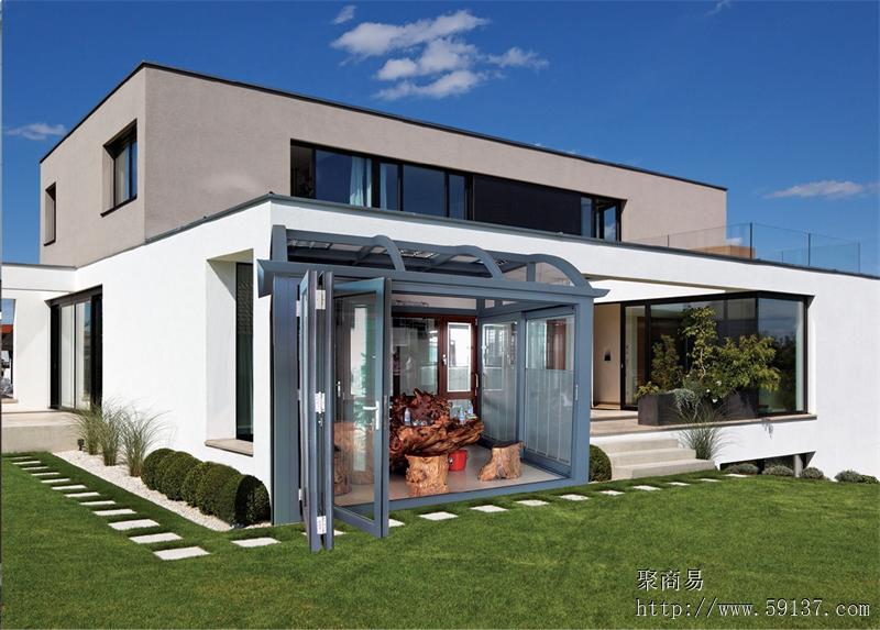 供应欧士阳光房 别墅专用 阳光房 玻璃房 幕墙门窗 重型推拉