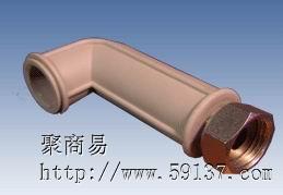 PPR管件加长活接弯头HL20-1/2F