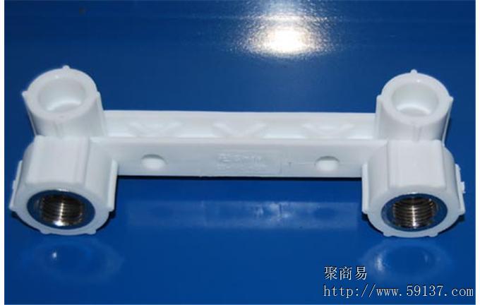 PPR管件45度等径弯头L160-160