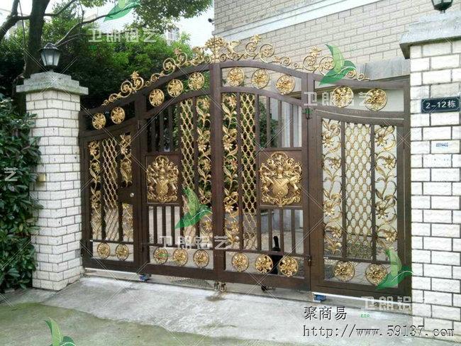 供应别墅大门 围栏 护栏 窗花 楼梯 屏风