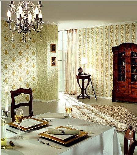 壁画壁布墙纸欧式现代风格电视背景书房卧室儿童房