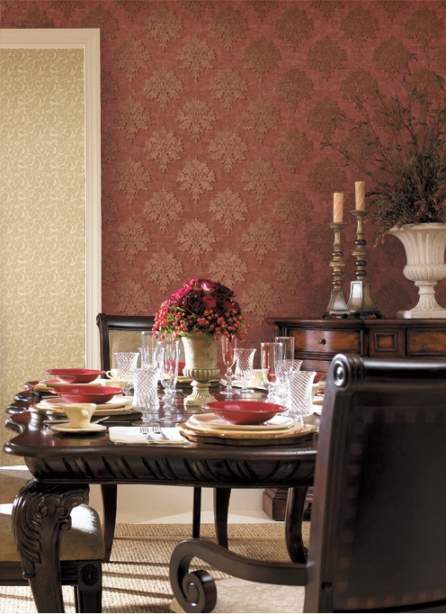 供应壁纸壁画壁布墙纸欧式现代风格电视背景书房卧室