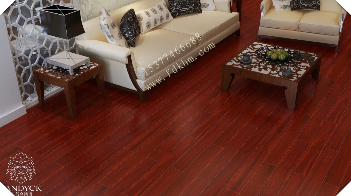 实木地板 圆盘豆 非洲紫檀香