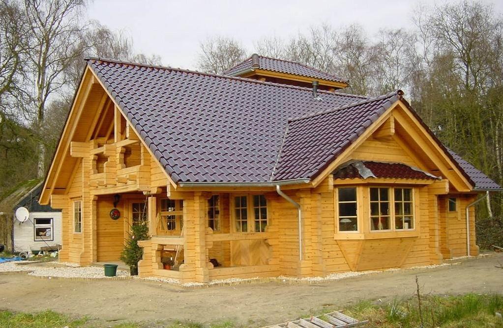 木制别墅,室内外电动遮阳