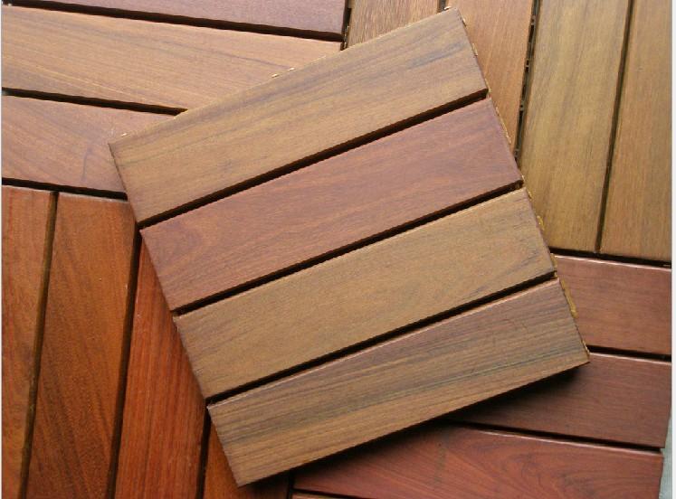 供应重蚁木户外木地板/紫檀实木户外地板
