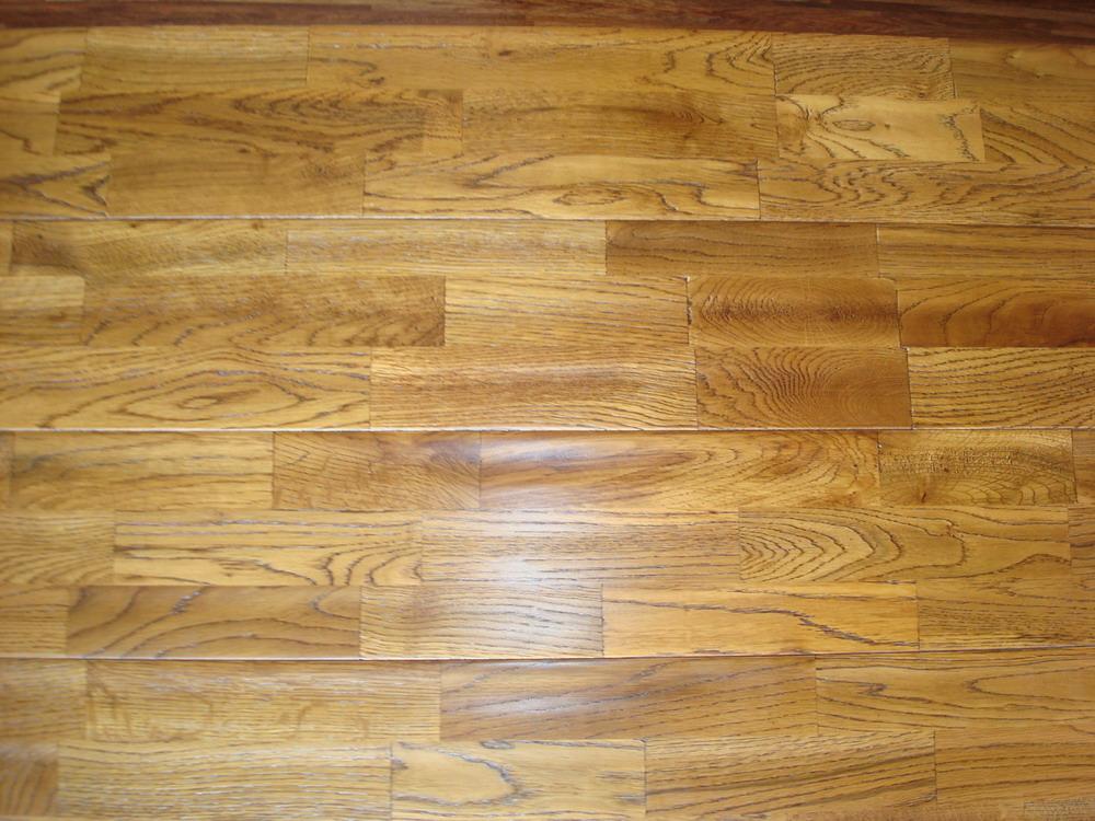 柞木指接拼板 实木地板