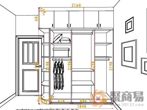 整体衣柜内部设计图,整体衣柜门效果图