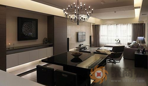 水晶材质的灯饰,高雅华贵,星光耀目,可起到旺财,增旺家中气场的作用.