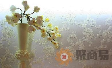 暗纹欧式大花壁纸
