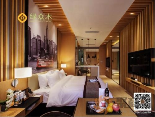 生态木】绿众木在酒店装修装饰中的具体应用